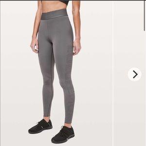 lululemon athletica Pants & Jumpsuits - New LULULEMON SOUL CYCLE Ride Reflect Logo Tight 6